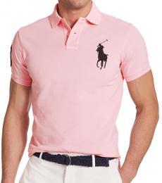 Ralph Lauren Pink Big Pony Custom Fit Polo