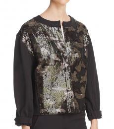 DKNY Black Sequined Jacket