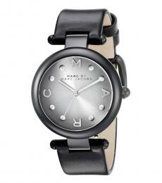 Marc Jacobs Black Grey Dial Watch
