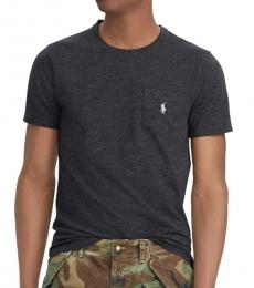 Ralph Lauren Black Heather Classic Fit T-Shirt
