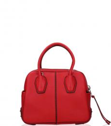 Tod's Red Miky Mini Satchel