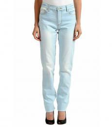 Versace Jeans Light Blue Straight Legs Jeans