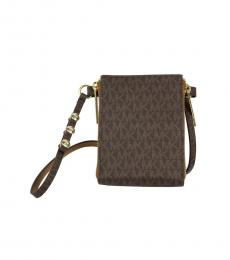 Brown Logo Fanny Belt Bag