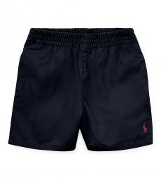 Ralph Lauren Baby Boys Navy Chino Shorts