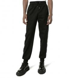Black Side Band Tracksuit Pants