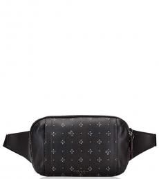 Black Diamond Print Graham Waist Bag