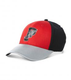 Ralph Lauren Red Snow Beach Baseball Cap