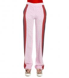 Pink All Over Logo Pants