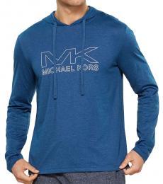Michael Kors MARINE Hooded Long Sleeve T-Shirt