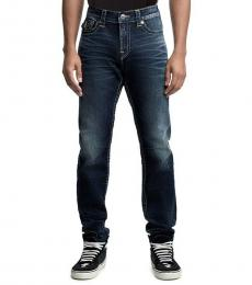 True Religion Midnight Indigo Rocco Relaxed Skinny Jeans