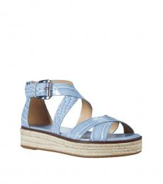 Michael Kors Pale Blue Darby Sandals