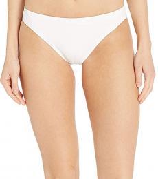 White Classic Bikini Bottoms