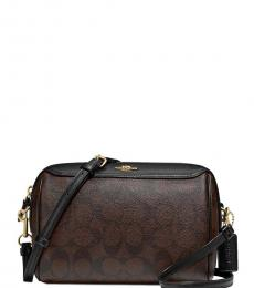 Brown Black Bennett Small Crossbody