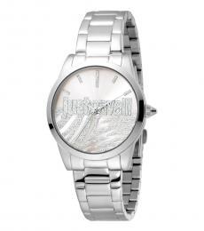 Silver Firma Logo Watch