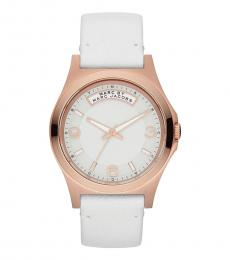 Marc Jacobs White Dave Watch