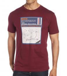 Ben Sherman Cherry Vintage Manual T-Shirt