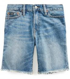 Ralph Lauren Boys Crawfield Wash Sullivan Slim Denim Shorts