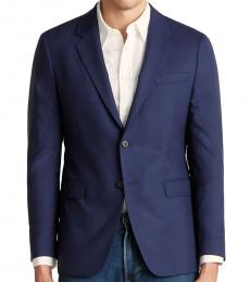 Theory Dark Blue Chambers Tailored Jacket