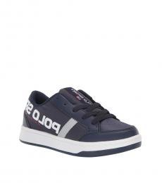 Ralph Lauren Boys Navy Belden Sneakers
