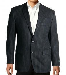 Ralph Lauren Dark Grey Two-Button Blazer