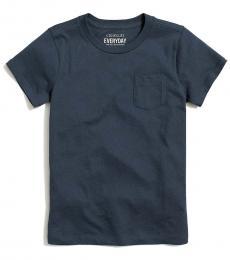 J.Crew Girls Evening Storm Pocket T-Shirt