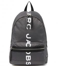 Marc Jacobs Dark Grey Suspiria Logo Print Large Backpack