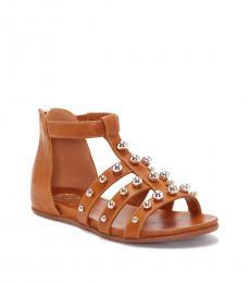 Vince Camuto Girls Cognac Abree Sandals