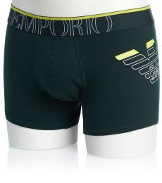 Bottle Green Logo Underwear