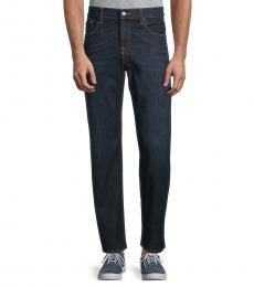 7 For All Mankind Navy Blue Austyn Relaxed-Fit Jeans