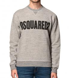 Dsquared2 Grey Front Logo Sweater