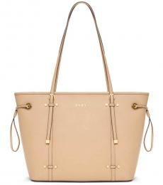 DKNY Light Brown Bo East-West Large Tote