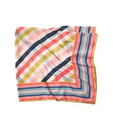 Coach Multi-Color Hadley Stripe Scarf