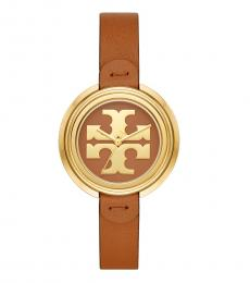 Tory Burch Luggage-Gold Miller Watch