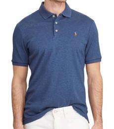 Ralph Lauren Derby Blue Classic-Fit Interlock Polo