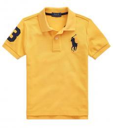Ralph Lauren Little Boys Gold Bugle Big Pony Polo