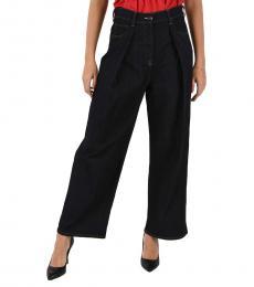 Emporio Armani Denim Wide Leg Jeans