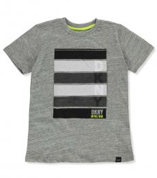 DKNY Little Boys Heather Graphic T-Shirt