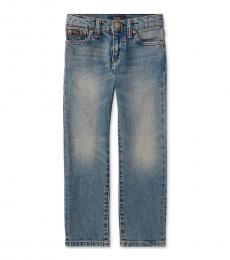Ralph Lauren Little Boys Mott Wash Stretch Slim-Fit Jeans