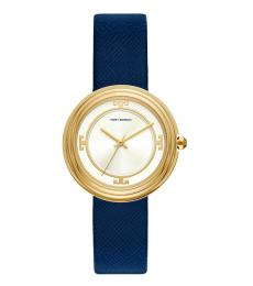 Navy-Gold Bailey Watch
