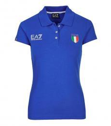 Blue Polo T-Shirt
