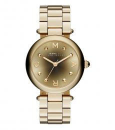 Marc Jacobs Gold Voguish Bracelet Watch