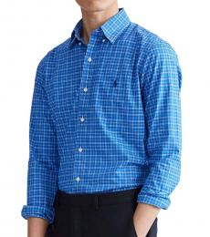Ralph Lauren True Blue Classic Fit Plaid Shirt