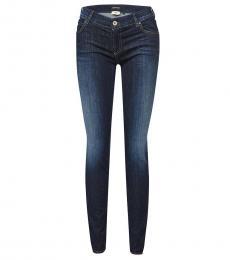 Armani Jeans Blue Mid Rise Jeans