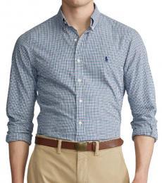 Blue Multi Classic Fit Plaid Shirt