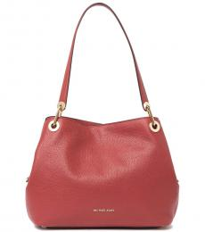 Michael Kors Red Raven Large Tote