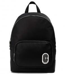Coach Black Solid Large Backpack