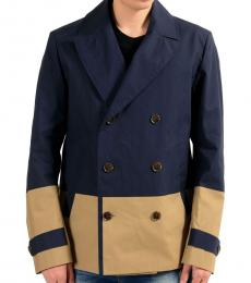 Dark Blue Double Breasted Jacket