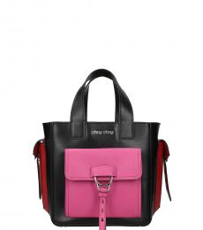 Miu Miu Black City Small Satchel