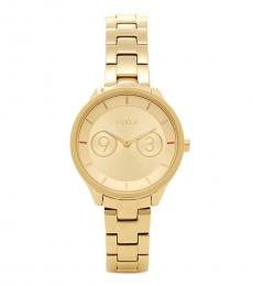 Furla Gold Gleaming Modish Watch