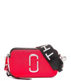 Marc Jacobs Hot Red Snapshot Small Crossbody